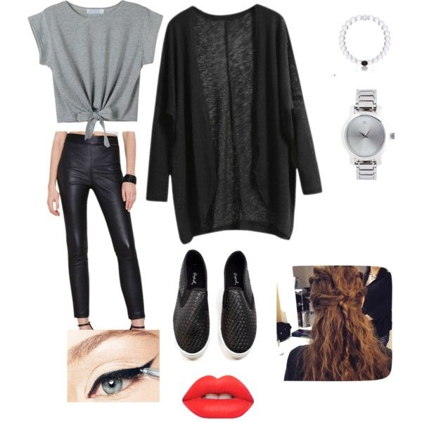 day job by kirakillenem on Polyvore featuring polyvore fashion style Forever 21 Lime Crime