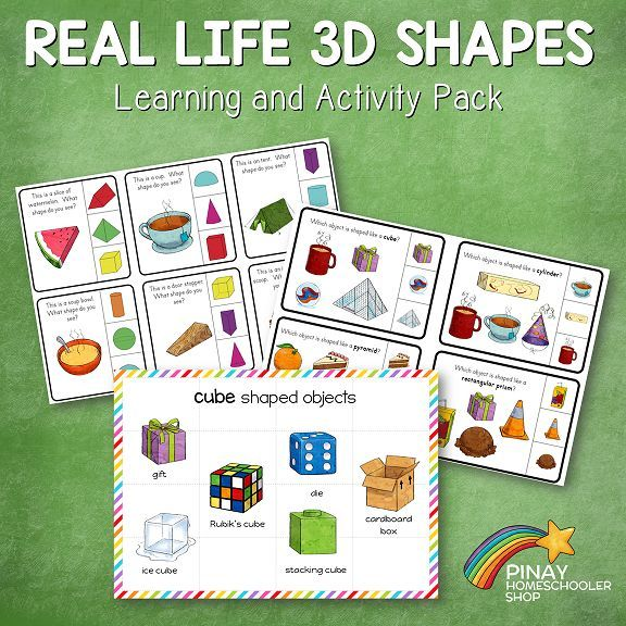 Cone In Real Life: Real Life 3D Shapes Learning Pack