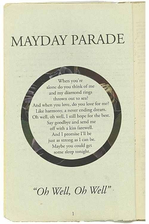 Mayday Parade Quotes Stunning Mayday Parade Quotes Google Search Mayday Parade Pinterest