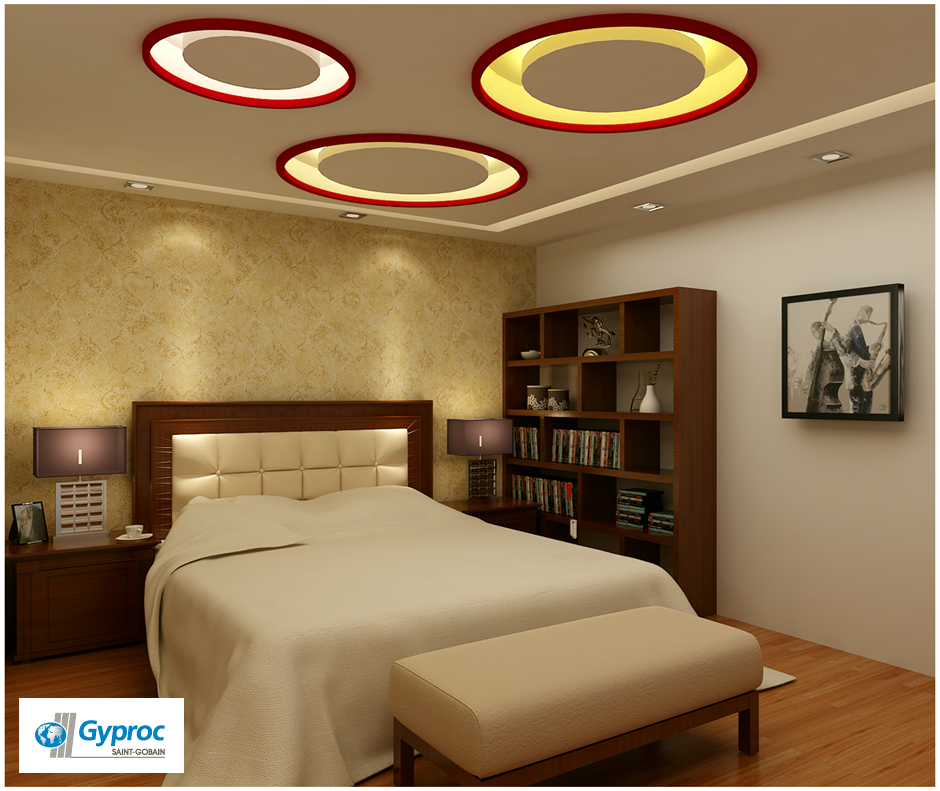 Bedroom Ceiling Cladding Best Bedroom Ceiling Designs Bedroom Paint Ideas Yellow Black King Bedroom Set: Install The Best Of Gyproc India #falseceilings