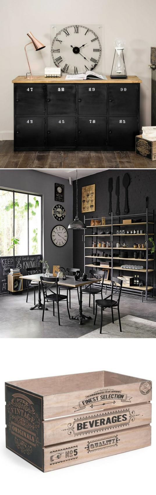 Design Caisses Rangement Maison Du Monde Cuisine Design Et