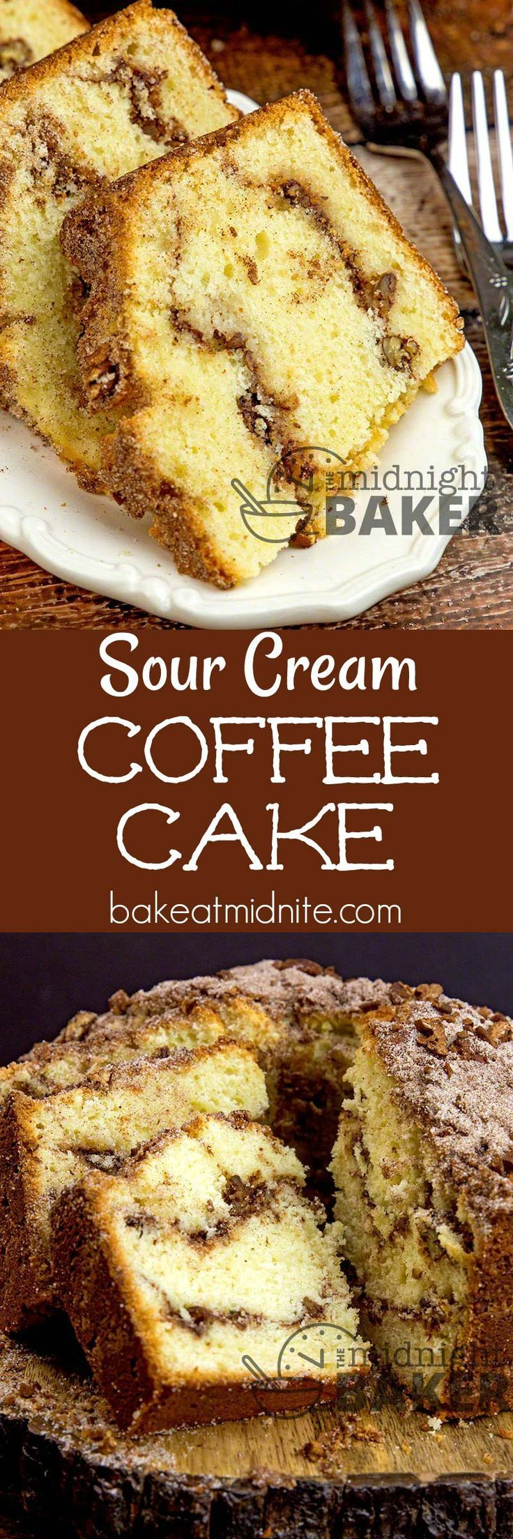 Sour cream keeps this delicious spicy and nutty coffee