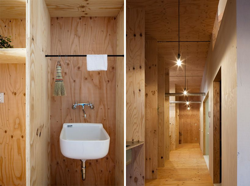 Ant House'mastyle Architects Omaezakicity Shizuoka Japan Gorgeous Ants In Bathroom Design Ideas