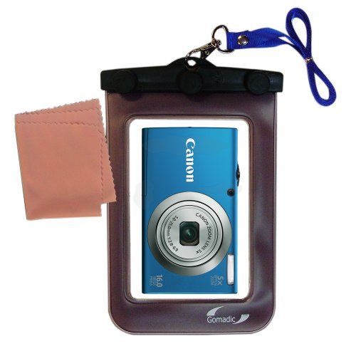 Lightweight Underwater Camera Bag Suitable For The Canon Powershot A2300 A2400 A2500 Waterproof Protection You