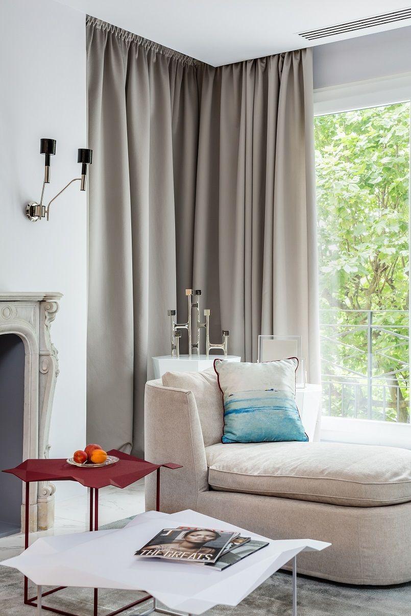 Belle Nouvelle Stil in einem modernen & eklektischen Wohnung in ...