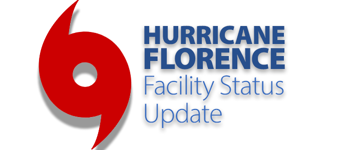 Hurricane Florence Facility Status | Facility, Florence ...