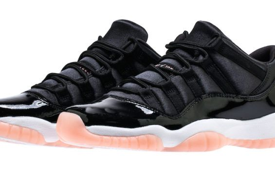 Air Jordan 11 Low GS Bleached Coral Releasing In April The upcoming Air  Jordan 11 Low Easter is dropping in full family sizing, but this Bl…    Pinteres…