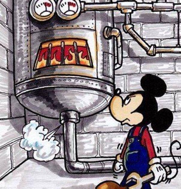 Hvac Hacks Com Mickey Mouse Boiler Mickey Mouse Mickey