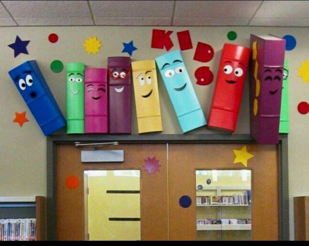 Pin de lisa clark en children 39 s librarian pinterest for Decoracion aula primaria