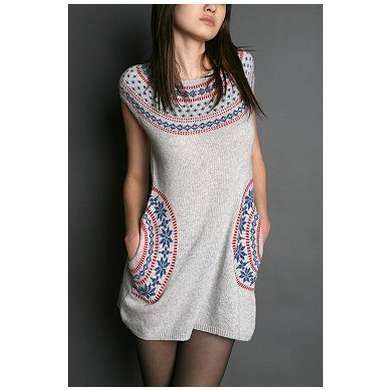 Tikirani Fairisle Tunic Sweater - Photo | Others | Pinterest ...