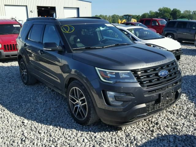 Salvage 2016 Ford Explorer Sport For Sale In New Jersey Ford Explorer Ford Explorer Sport Sport Suv