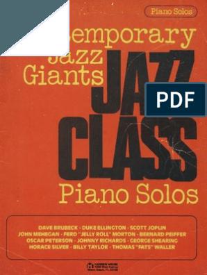 Jazz Piano Solos Dave Brubeck (con imágenes) Pdf libros