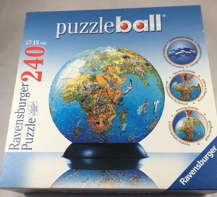 Puzzle ball ravensburger puzzle world map 240 pieces 2005 puzzle ball ravensburger puzzle world map 240 pieces 2005 geroldcomo gumiabroncs Choice Image