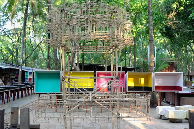 studio mumbai exhibition opens at bordeaux's arc en rêve