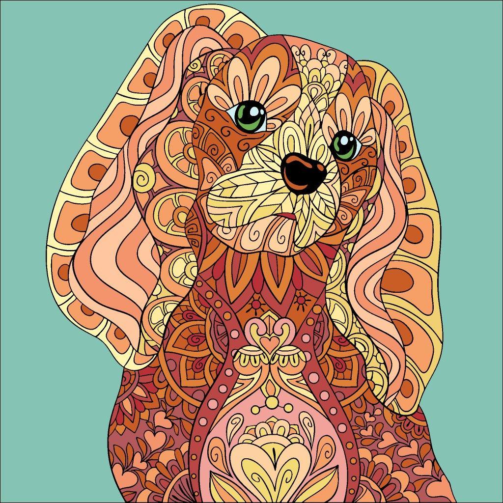 Pin By Jose Warnaar On Happy Color Dog Art Art Pixel Art