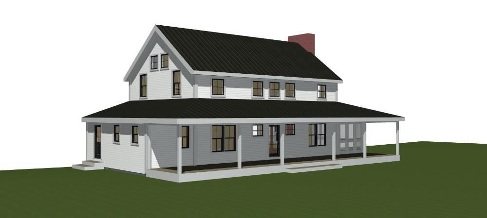 Clove Farmhouse Is On The Boards Modern Farmhouse Floorplan Barn Homes Floor Plans Farmhouse Floor Plans