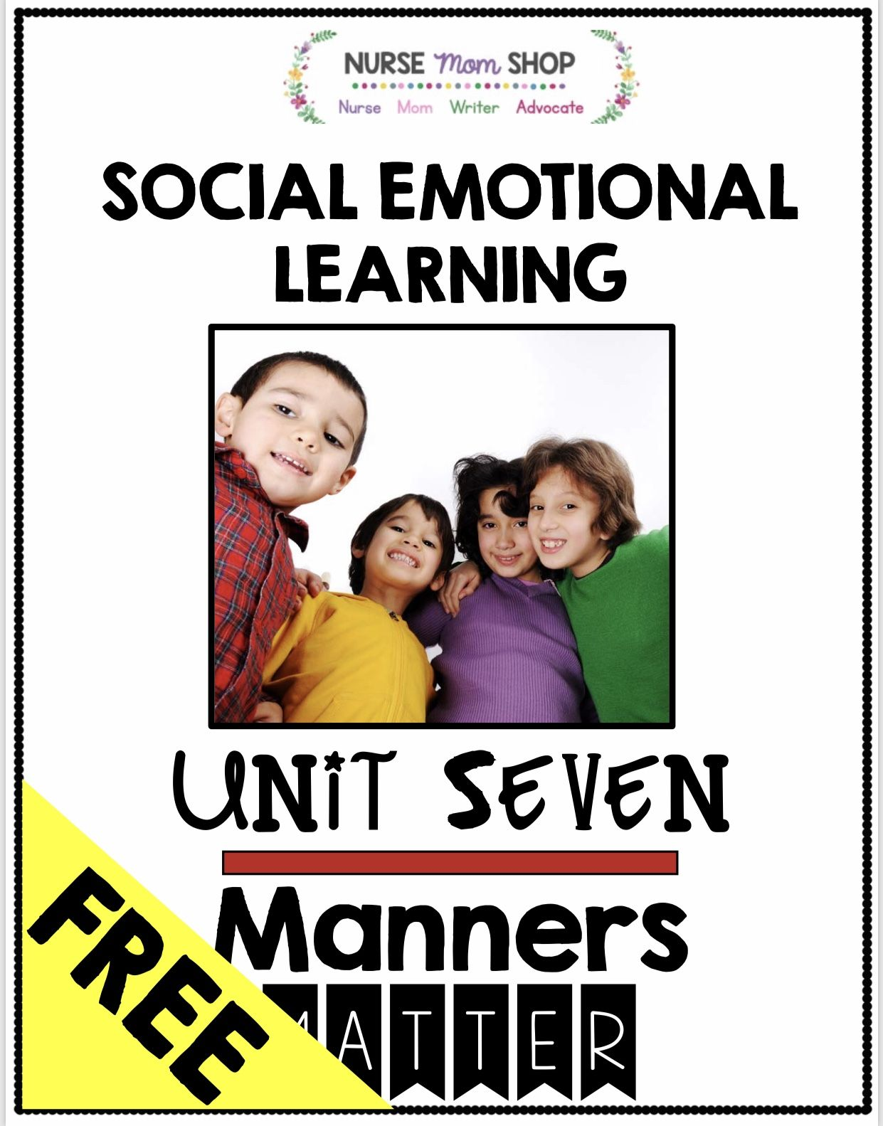 Freebie Manners Matter With Images