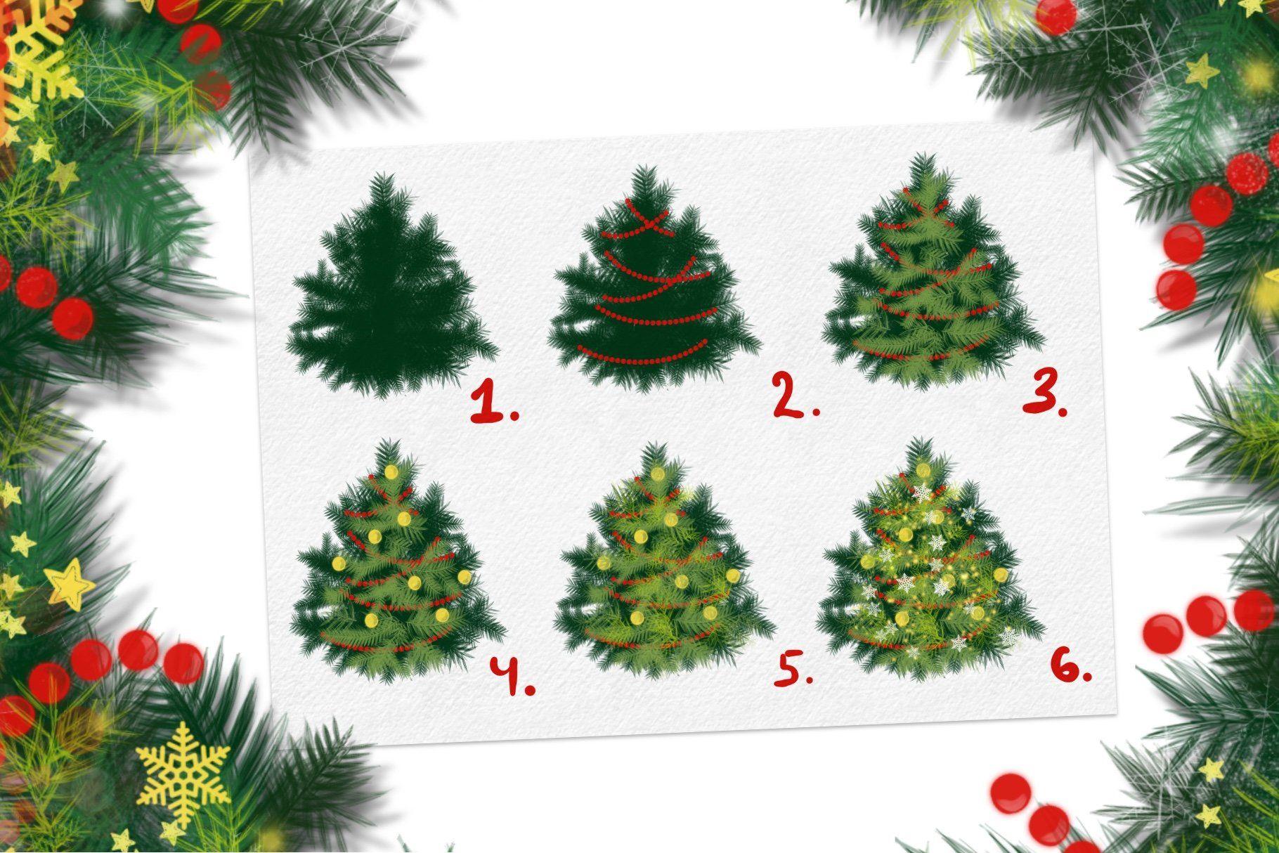 17++ Christmas brushes information