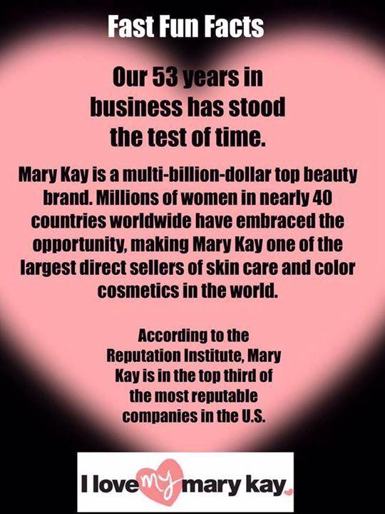 Mary Kay Facts Mary Kay Business Mary Kay Consultant Mary Kay Party