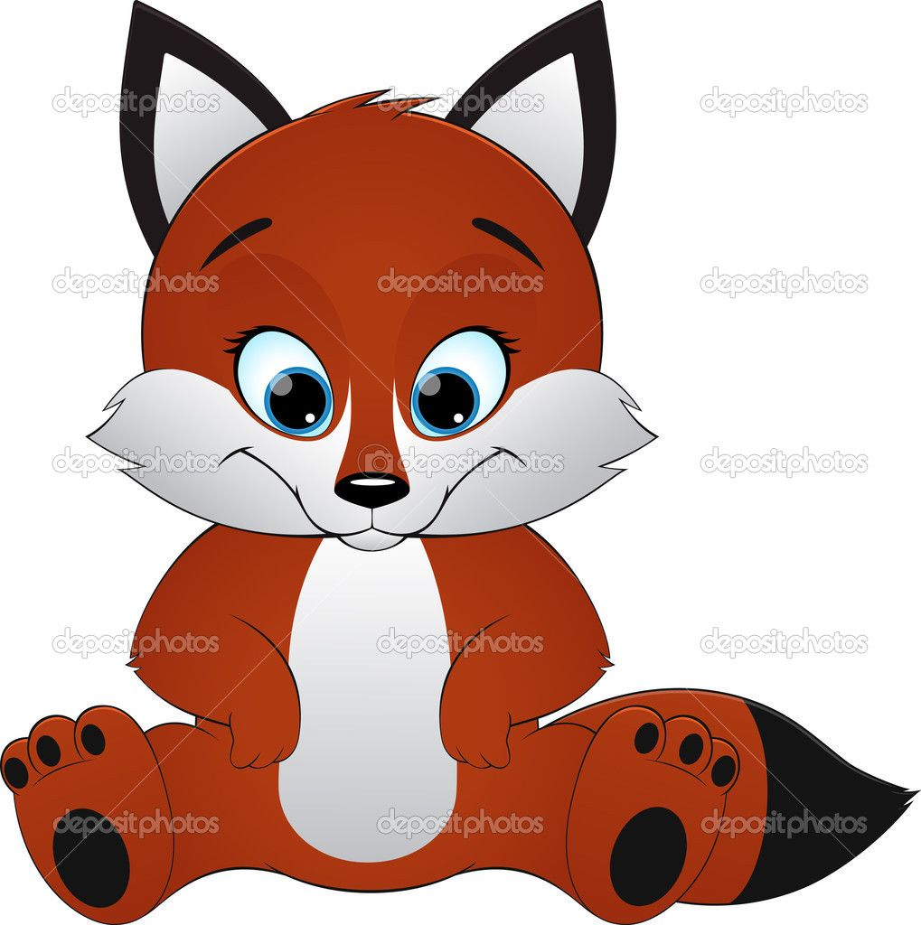 Renard mascotte dessin ma tresse de maternelle - Renard en dessin ...