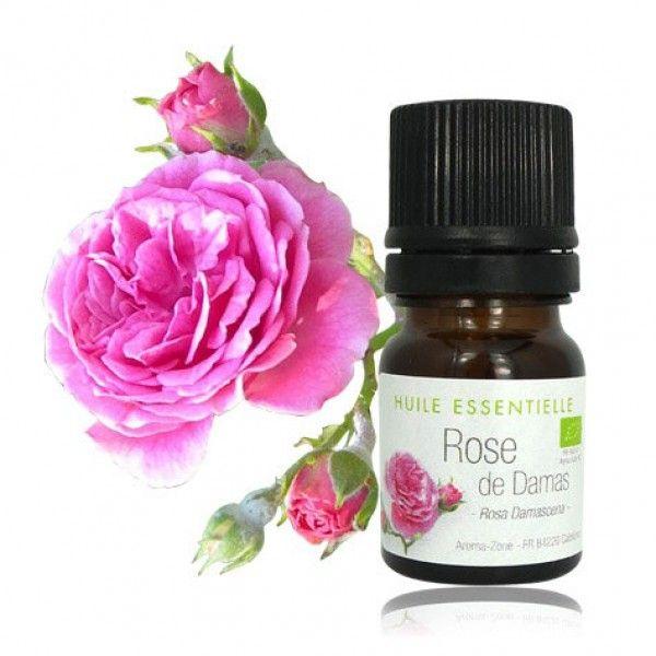 Huile essentielle de Rose de Damas BIO. L'huile de Rose est magique. D'odeur puissante, fleurie et envoûtante, elle est l'alliée de toutes les peaux pour agir contre les signes du temps.