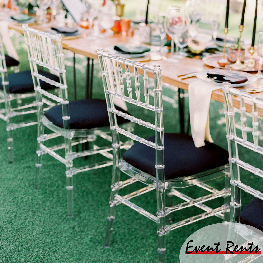 Crystal Chiavaris Phoenix Az Party Rentals Chair Dining Chairs