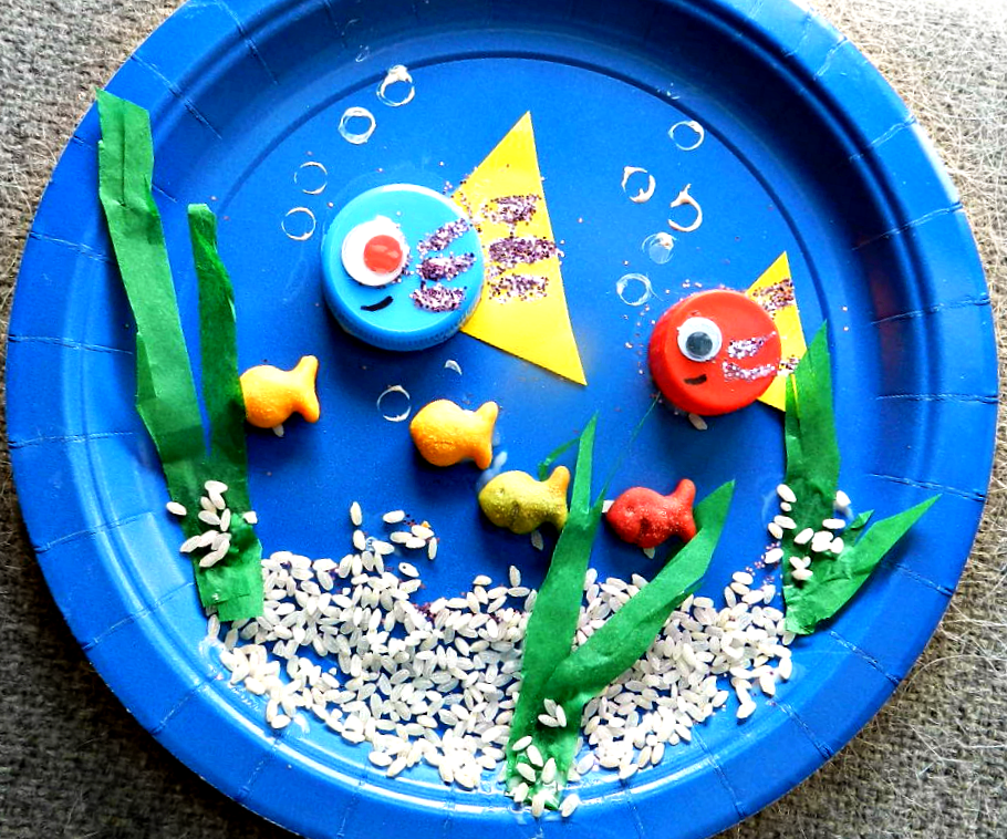 O is for Ocean Preschool Paper Plate Craft #kids & O is for Ocean Paper Plate Preschool Craft | Paper plate crafts ...
