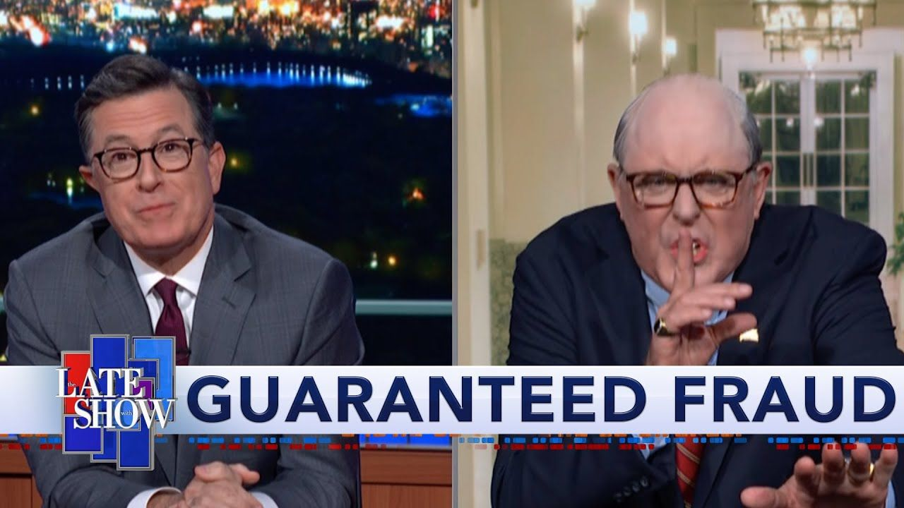 Colbert Gets A Surprise Visit From Rudy Giuliani 2 413 783 Views Oct 23 2019 32k 1 1k 6 83m Subscribers Did Rud John Lithgow Rudy Giuliani Racist People