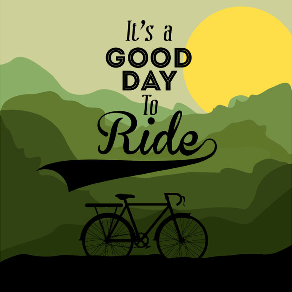 It was a great day to ride! … Cycling quotes, Bike