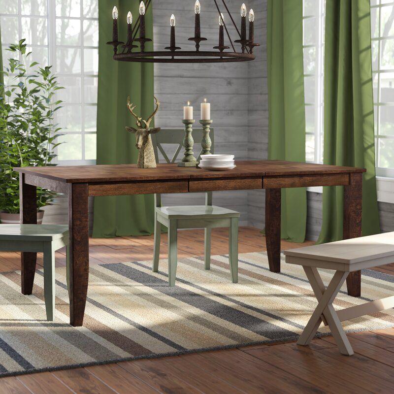 Trent Austin Design Caracara Leg Extendable Dining Table Reviews Wayfair Extendable Dining Table Dining Table Wood Dining Table