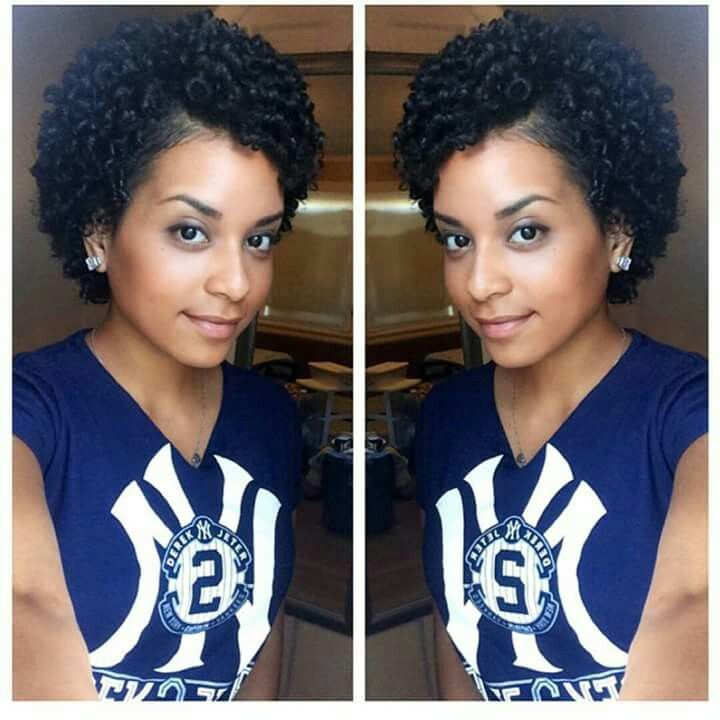 Love This Curly Hair Styles Short Natural Hair Styles Curly