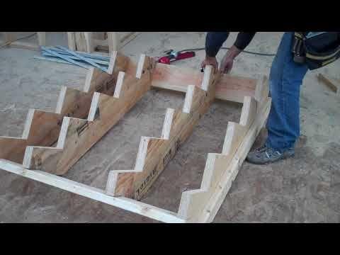 Como hacer escaleras de madera 2 vasiado youtube for Escalera de madera al aire libre precio