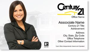 Century 21 business cards for real estate agents good to know century 21 business cards for real estate agents colourmoves