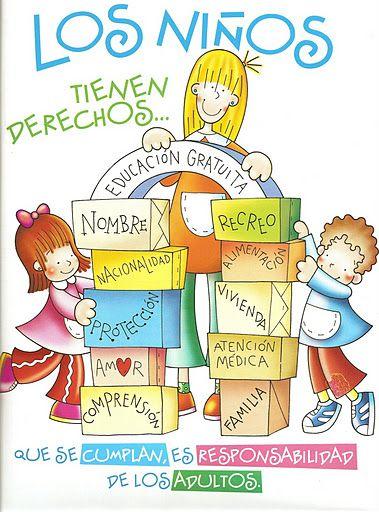 Mi Mundo Infantil Dia De Los Derechos Del Nino Deberes De Los Ninos Derechos De Los Ninos Derechos De La Ninez