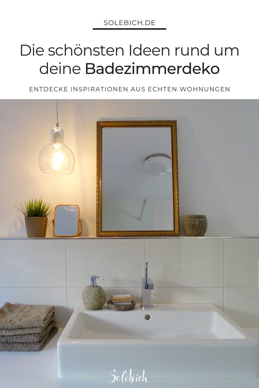 Badezimmer Deko Die Schonsten Ideen Badezimmer Deko Badezimmer Ablage Badezimmer
