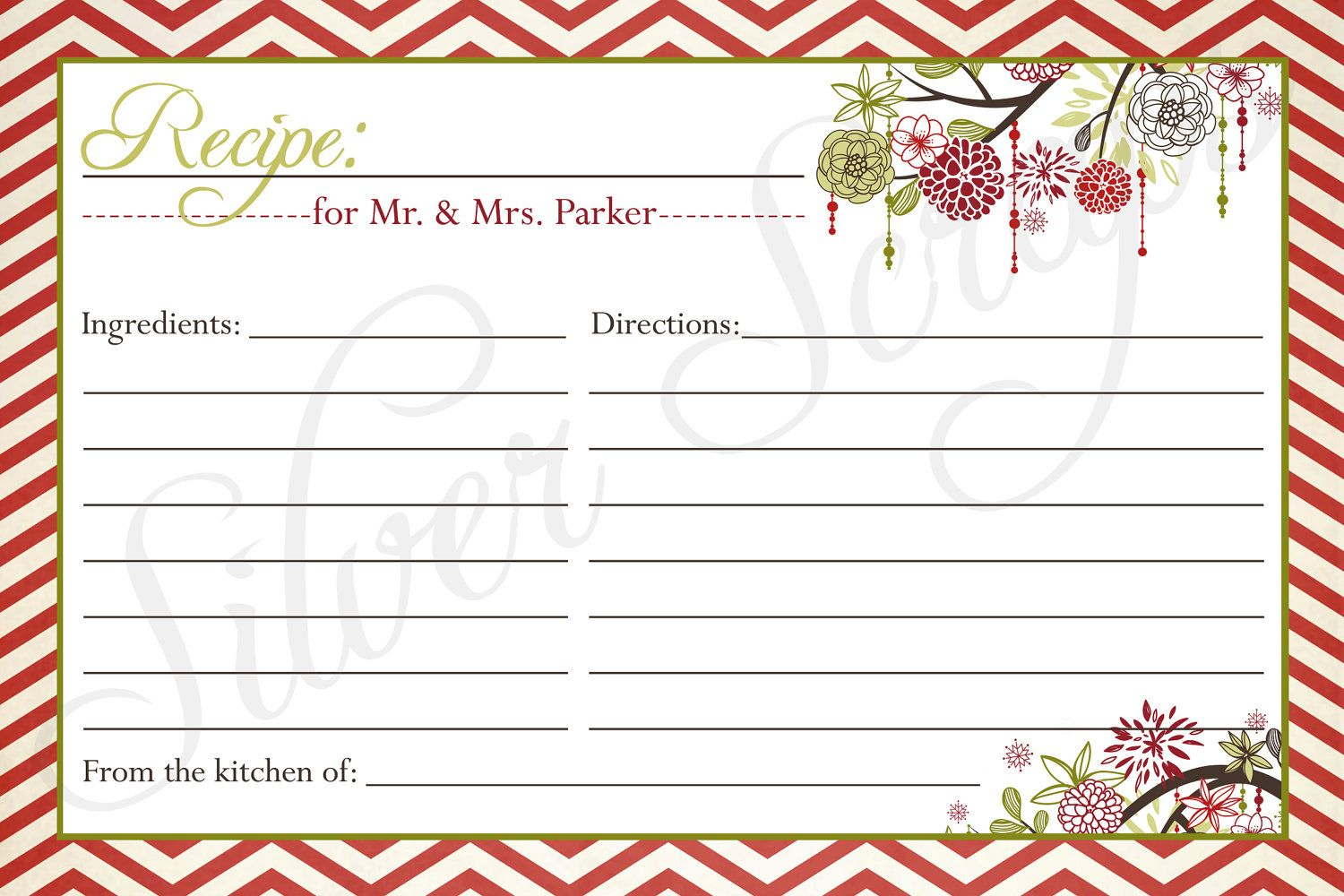 Clipart For Recipe Cards Intended For Free Recipe Card Templates For Microsoft Word Professi Recipe Cards Template Holiday Recipe Card Christmas Recipe Cards