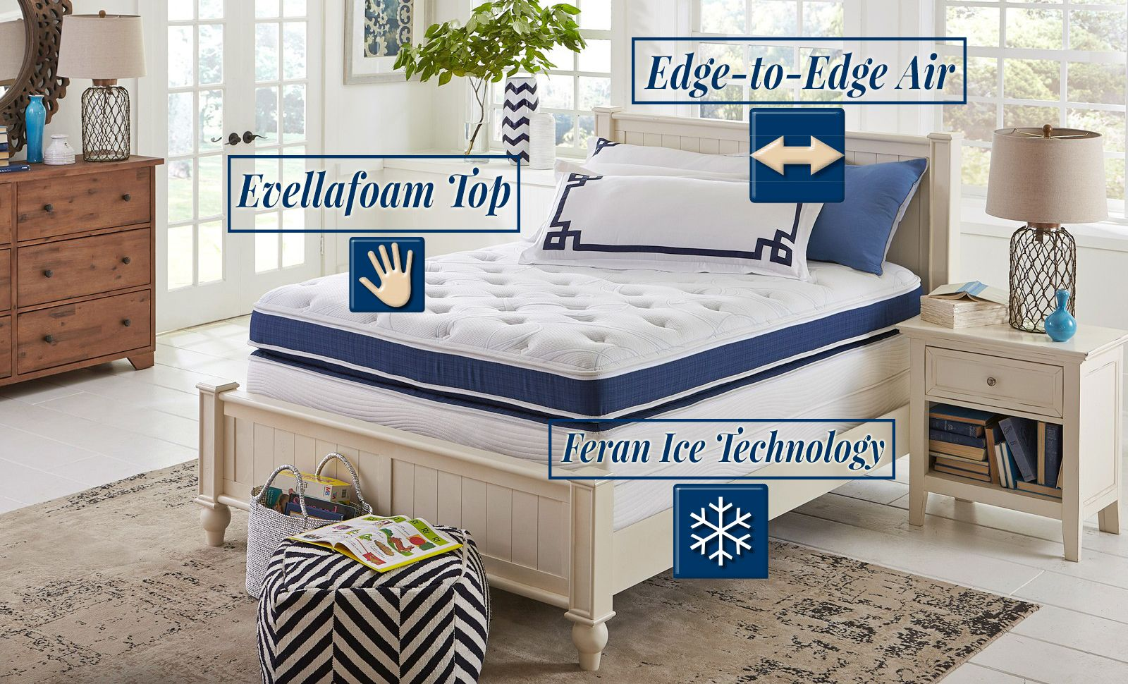 Our bestselling N15 mattress will have you sleeping on