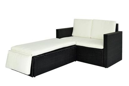 2pc Love Bed Rattan Set | Garden deals in Shop | Wowcher ...