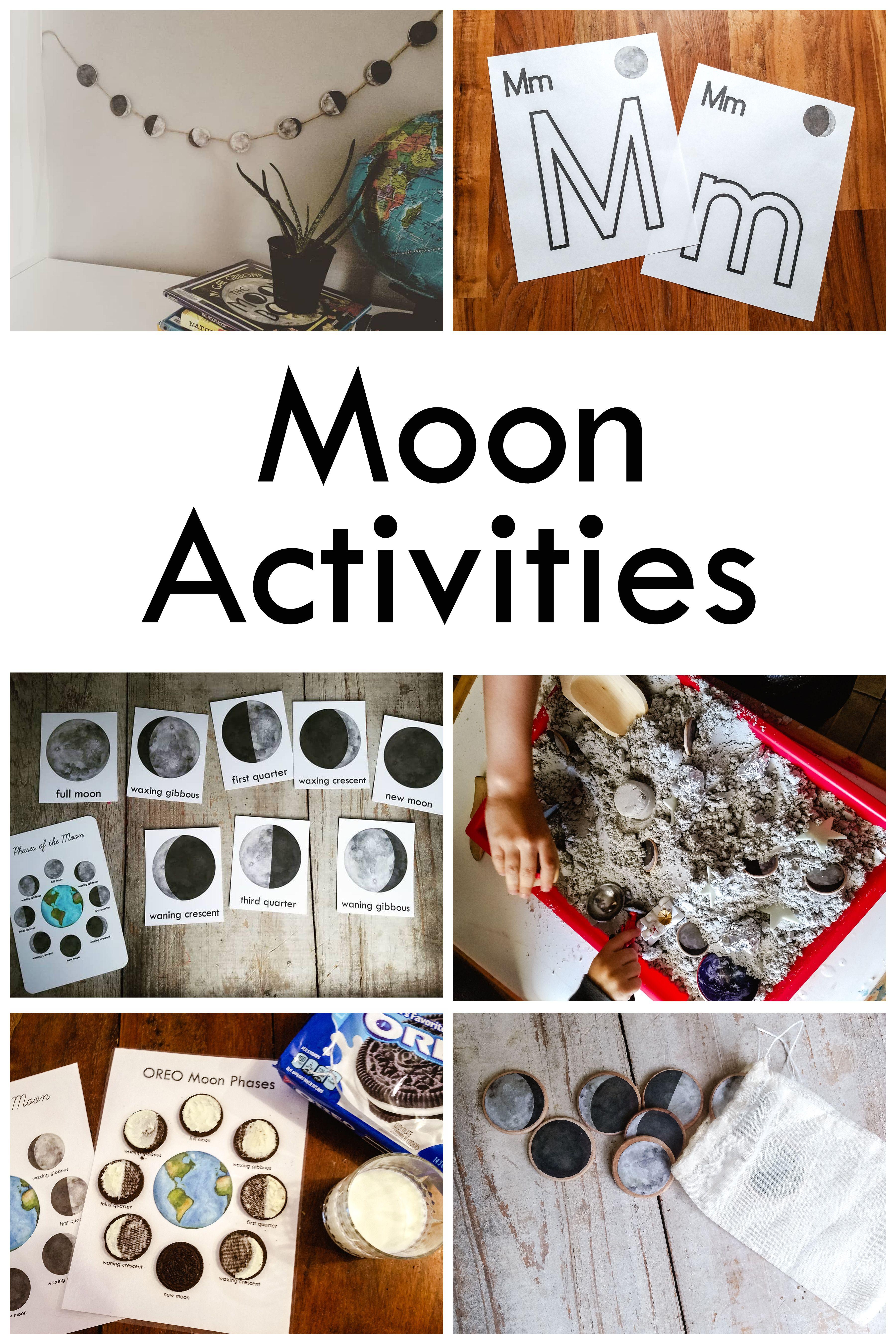 Moon Phase Activities
