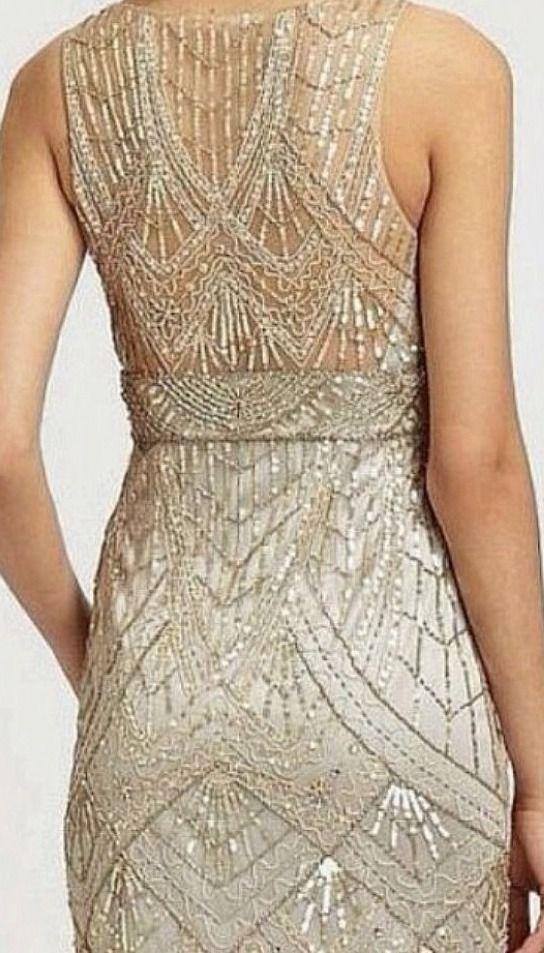 Champagne Silver Dress