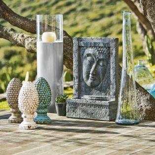 grande fontaine d 39 ext rieur gris m ditation les objets. Black Bedroom Furniture Sets. Home Design Ideas