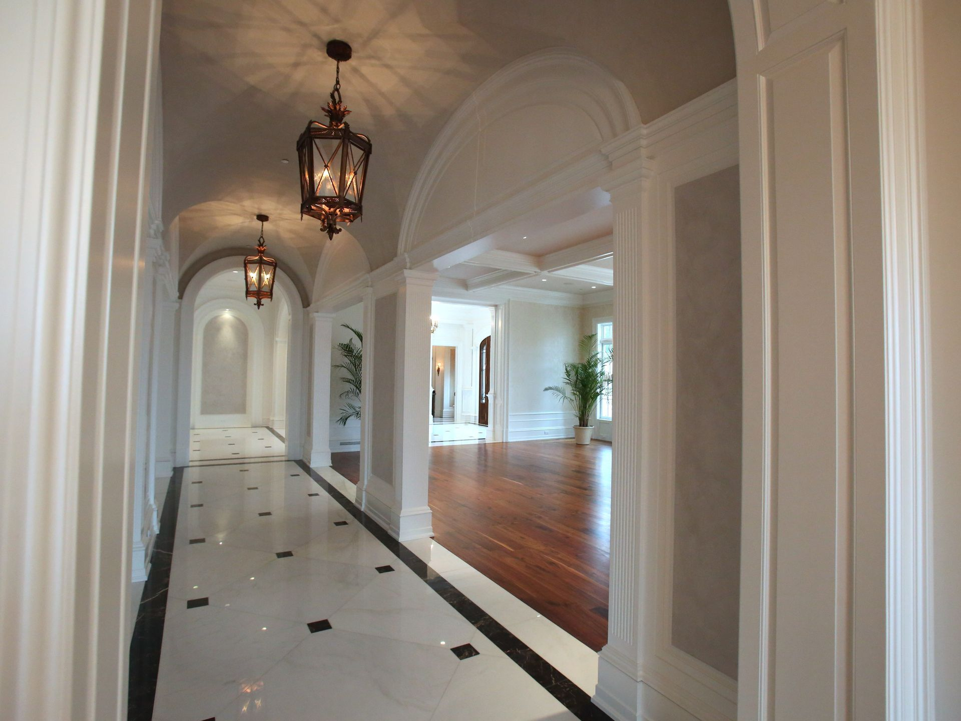 The Stone Mansion In Alpine New Jersey A Hallway At The Frick