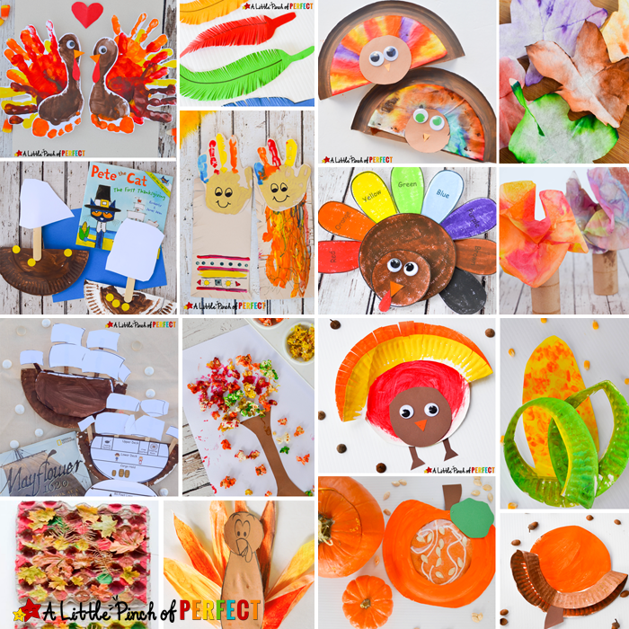 Attractive Thanksgiving Craft Ideas For Kids Part - 12: 16 Easy Thanksgiving Crafts For Kids To Make This Fall: Easy Craft Ideas  Including Turkeys