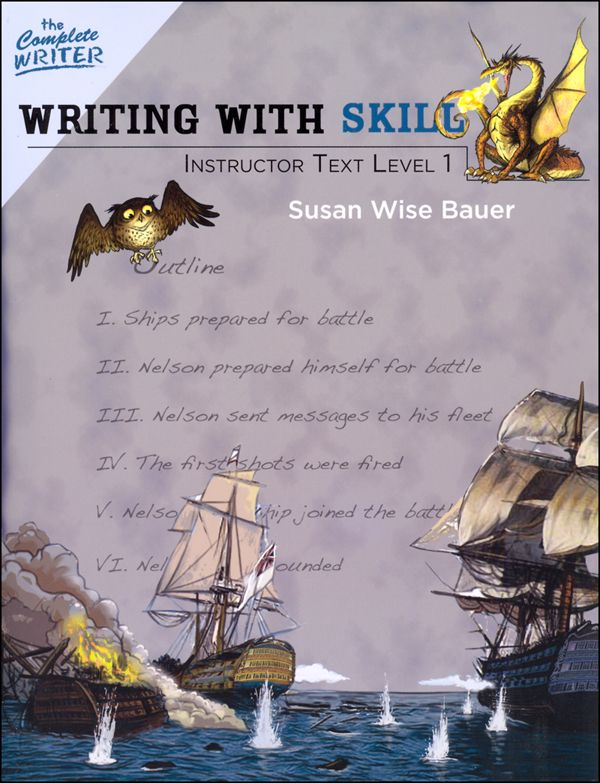 Complete Writer Writing With Skill Level One Instructor Text Main