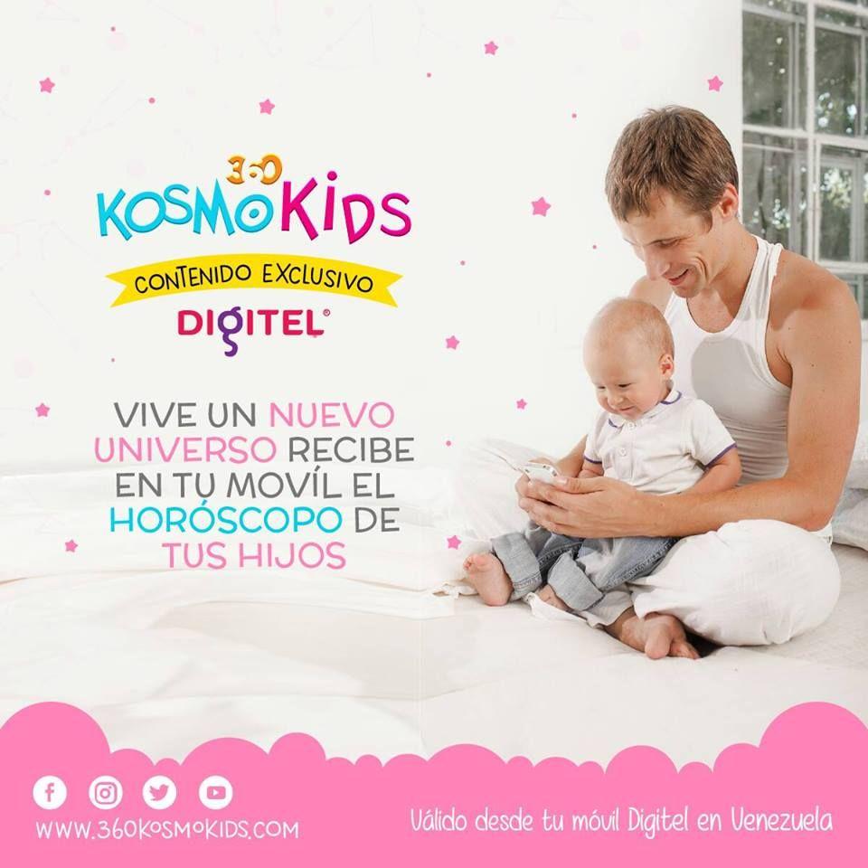 Tenemos contenido EXCLUSIVO para usuarios de Digitel de Venezuela. Ingresa desde tu móvil >>http://digitel.360kktips.com/<< #360KosmoKids