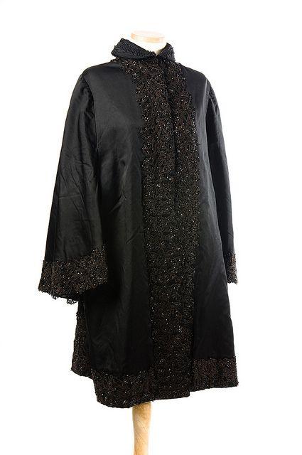 Black Silk Cape Coats Capes Shawls And More Black Silk Cape
