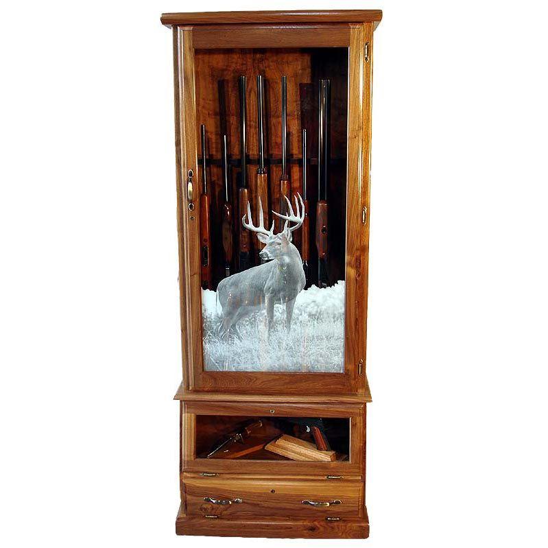 Scout 1612 Gun Cabinet Oak 12 Gunsafes