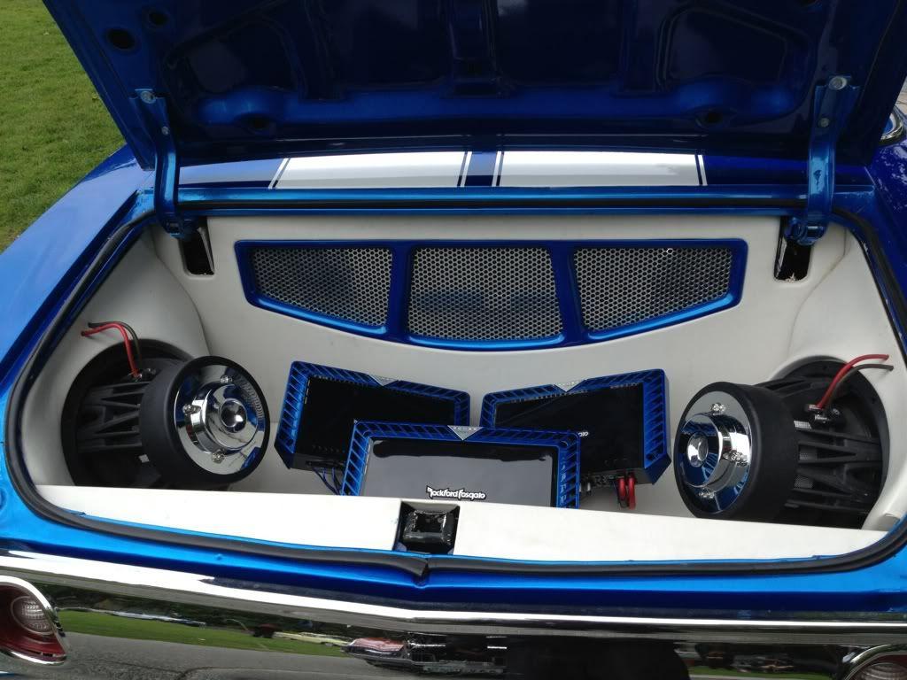 72 Chevelle Convertible Blue White Asanti Af130 10 Spoke Wheels