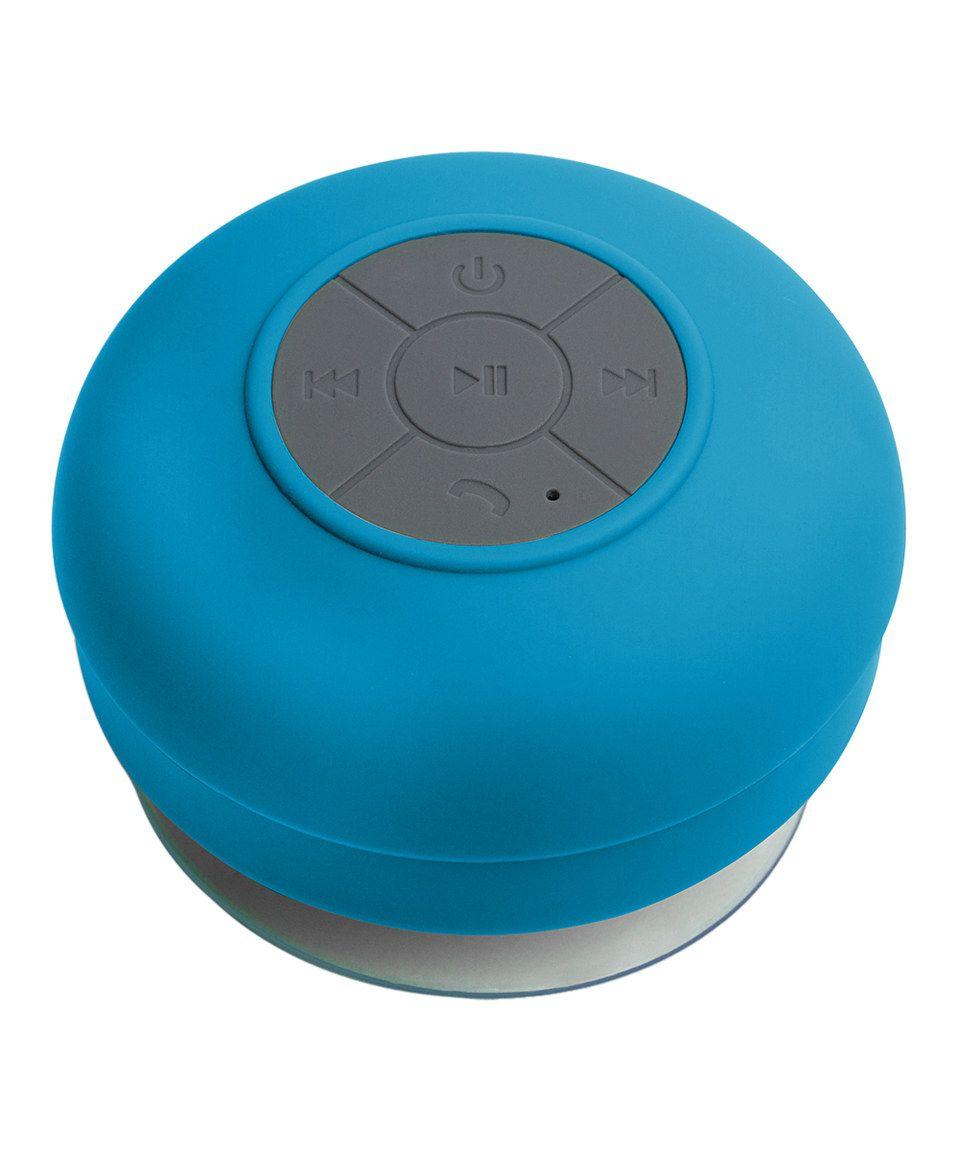 Blue Bluetooth Shower Speaker By Gmg Wholesale Zulily Zulilyfinds Shower Speaker Waterproof Speaker Shower