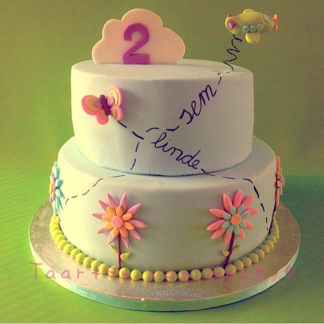 Cake for twins by Taarten van Guusje